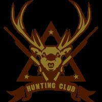 Hirschjagd Hirsch Logo Pistole Jagd 5