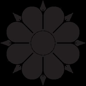 Monochrome Vektorgrafiken