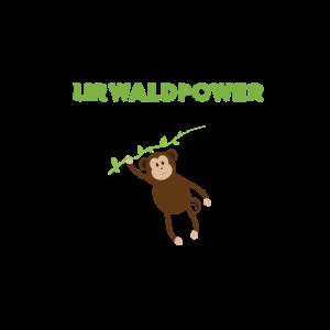 Affe Aeffchen Urwaldpower 0254