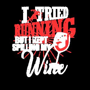 Rotwein statt Joggen