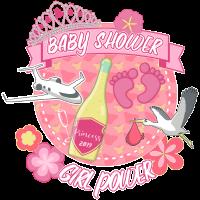 Baby Shower Girl Power Prinzessin Geschenk