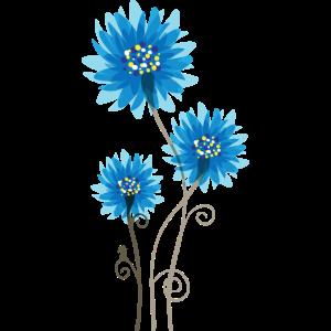 Schöne Blaue Blumen - Frühling - Sommer - Natur