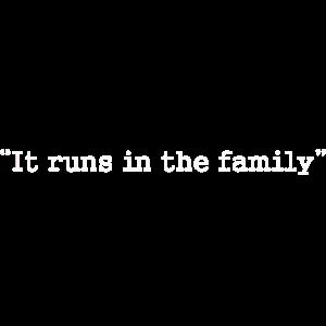 Das liegt in der Familie