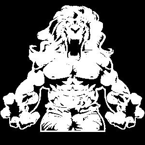 löwe beast muscles workout
