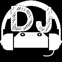 DJ Mischpult mit Kopfhörern