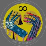 Two of Pentacles   Zwei der Münzen Tarot Karte