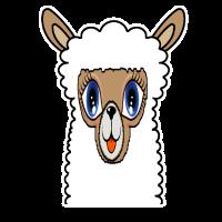 alpaka lama alpaca t-shirt