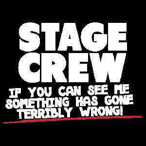 Etwas hat falsche Bühnencrew verloren