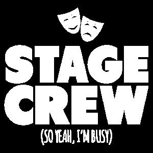 Bühnencrew Also ja, ich bin beschäftigt