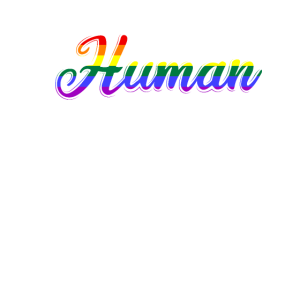 We Are All Human Menschenrechte Geschenk