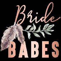 Boho Bride Babes Braut