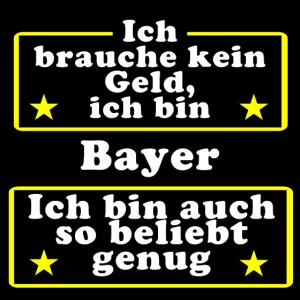 Bayer beliebt genug
