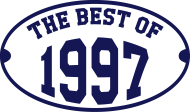 Jahrgang 1990 Geburtstagsshirt: The Best of 1997