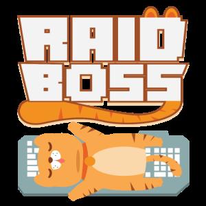 Gamer Gaming Zocker Raid Boss PC MMO Nerd Geschenk
