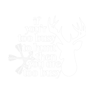 too busy to hunt white