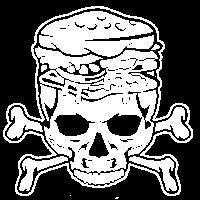 Burger Skull 2w