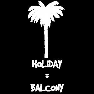 Urlaub auf dem Balkon - Geschenkidee Mitbringsel