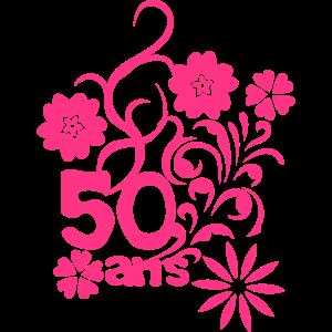 50 Jahrestag Blume
