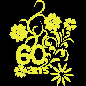 60 Jahrestag Blume