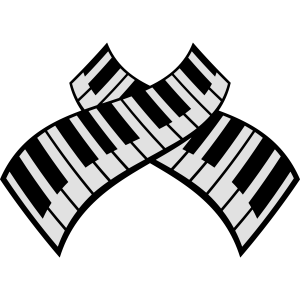 Piano Keys Pattern Design