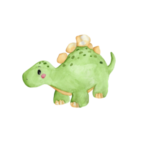 Dino, Dinosaurier, Geschenk, Aquarell, Baby,