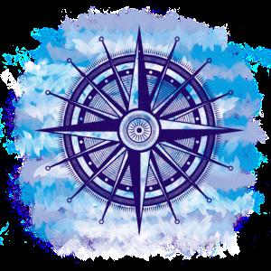 Maritim Vintage Kompass