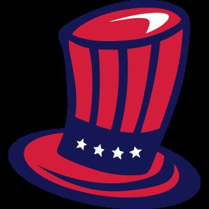 701 amerikanischer Hut