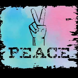 Peace Geste Geschenk