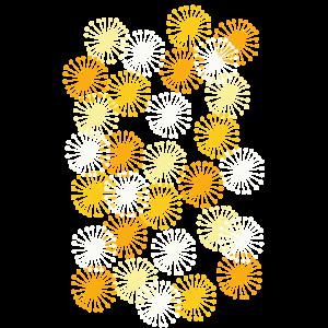Muster gelb