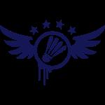 Badminton Emblem (Flügel) 01