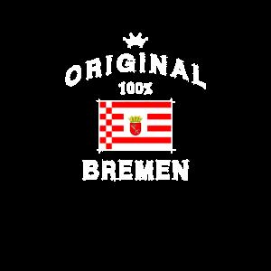 Original 100% Bremen Hansestadt Bremerhaven Weser