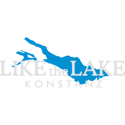 Konstanz am Bodensee - Like the Lake (Weiß) - Konstanz, Bodensee Design für dunkle Shirts und Hintergründe. - urlaub,universität uni hochschule,sprüche,spruch,konstanzer,konstanz,konschtanz,ferien,fasnacht,bodensee