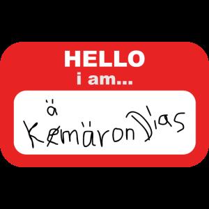 Hello iam kemeron dias