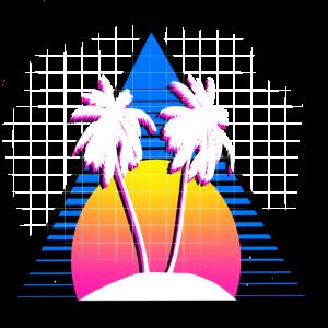 80s Palmen