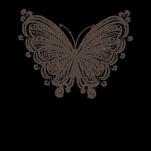 Orientalisches Ornament Muster Schwarz