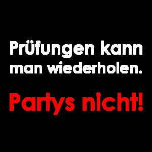 Prüfungen und Partys