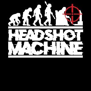 Zocker Headshot Evolution T-Shirt