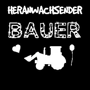 Heranwachsender Bauer - Nachwuchs Geburt Geschenk