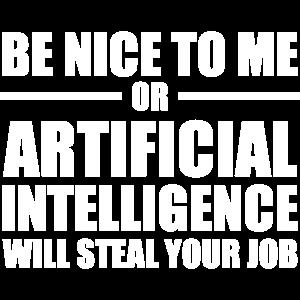 Künstliche Intelligenz AI / Sei nett