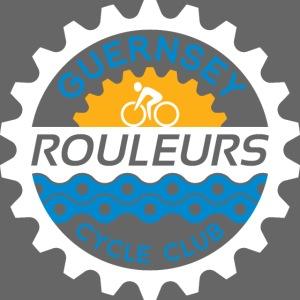 Guernsey Rouleurs Reversed Logo