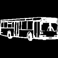 Eckiger Bus