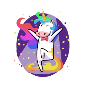 Party Einhorn