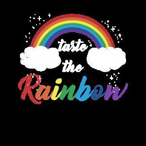 Regenbogen Taste The Rainbow Homo Spruch Geschenk
