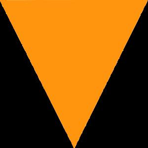 dreieck geometrie mathematik orange kunst