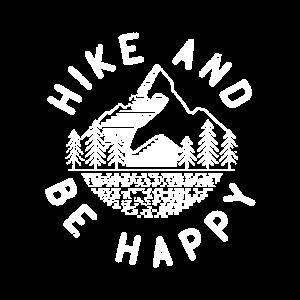 Wandern und glücklich sein