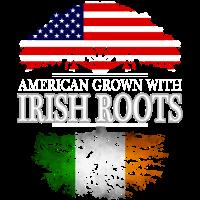Amerikaner gewachsen mit irischen Wurzeln