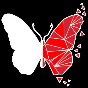 Schmetterling Falter Motte Abstrakt Geschenk