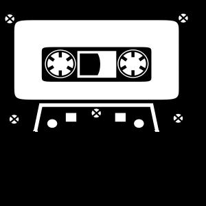 Tape Kassette Radio Musik Sound Geschenk Retro