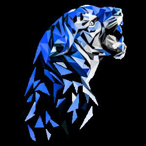 Tiger abstrakt