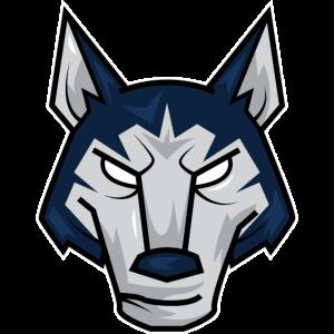Hund Wolf Geschenk Kopf Hunde Bulldoge